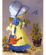 Little Gardening Girl (Dufex Foil Print #152617) - $4.99