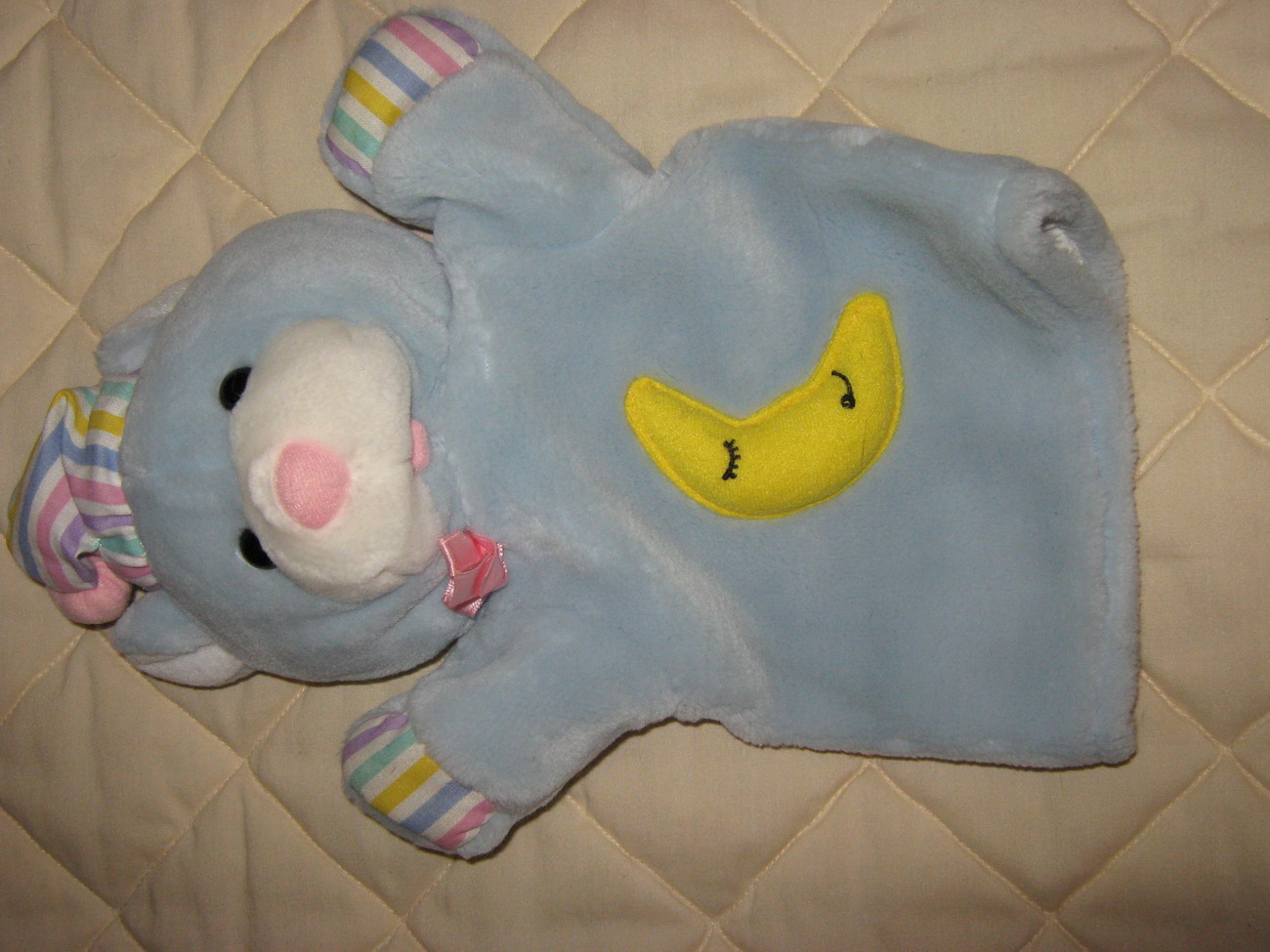 "hand puppet,""Good Night Bear"""