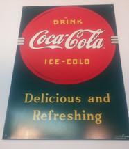 Vintage 1989 Repro Drink COCA-COLA Usa - $8.90
