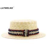 Hats Adults & Children Handmade Crochet Belt Straw Hast Summer Girls Bea... - $12.56+
