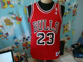 Vintage 90's Chicago Bulls Michael Jordan Champion Jersey 40 M  - $49.49