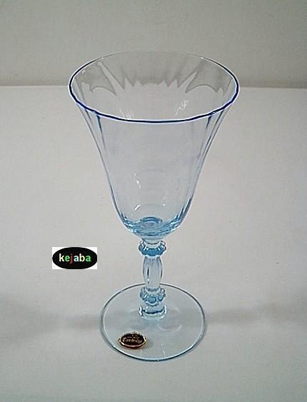 Cambridge Caprice Blue Stem Water 7.75 In. 300 W/ Sticker
