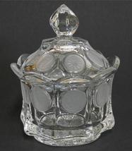Fostoria ~ Coin Glass ~ Clear Glass Lidded Suga... - $29.95