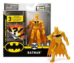 """The Caped Crusader Batman Defender 4"""" Action Figure w/ 3 Mystery Accessories MOC - $16.88"""