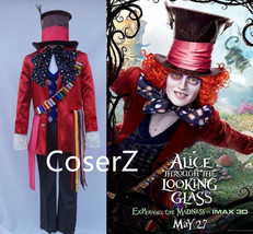 Alice in Wonderland 2 Mad Hatter Cosplay Costume Adult - £85.17 GBP