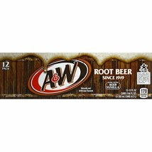 A&W Root Beer Aged Vanilla 12 pack - $19.70