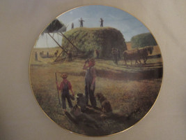 A WELL DESERVED BREAK collector plate EMMETT KAYE Farming the Heartland ... - $14.99