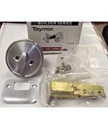 Taymor 36-2100SC Keyless One Sided Deadbolt Satin Chrome Builder Series - $6.93