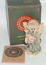 Boyd Bearstone Resin Bears Zoe The Angel Of Life Figurine #2286 NEW IN BOX image 3