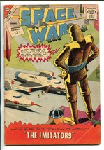 SPACE WAR #19 1962-CHARLTON-ROBOT COVER-vg - $45.40