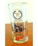 Vintage Coca-Cola Houchen's 75th Anniversary Glasses 1917/1992 1917 Bruc... - $14.85