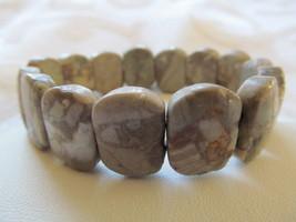 MULTI COLOR GRAY JASPER bracelet - $5.00