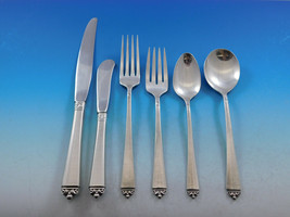 Satin Beauty by Oneida Sterling Silver Flatware Set for 8 Service 55 pieces - $2,650.00
