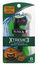 Schick PX-311B Xtreme 3 Sensitive Skin Disposable Razor for Men, 8 ct (P... - $16.61