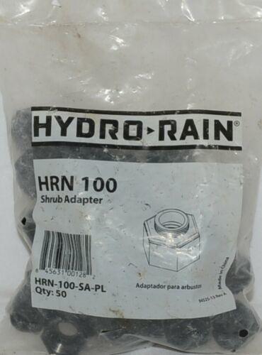 Hydro Rain Shrub Adapter HRN 100 SA PL 1/2 Inch NP 50 Per Package