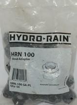 Hydro Rain Shrub Adapter HRN 100 SA PL 1/2 Inch NP 50 Per Package image 1