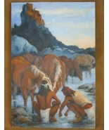 Reflections Southwest Indian Limited Edition Giclée Print by Gretchen Price - $150.07