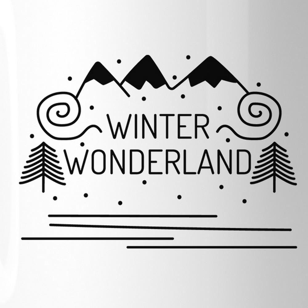 Winter Wonderland White Mug