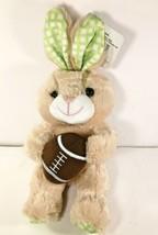 "Super Soft Bunny & Football Plush 9"" Stuffed Animal NEW - $9.10"