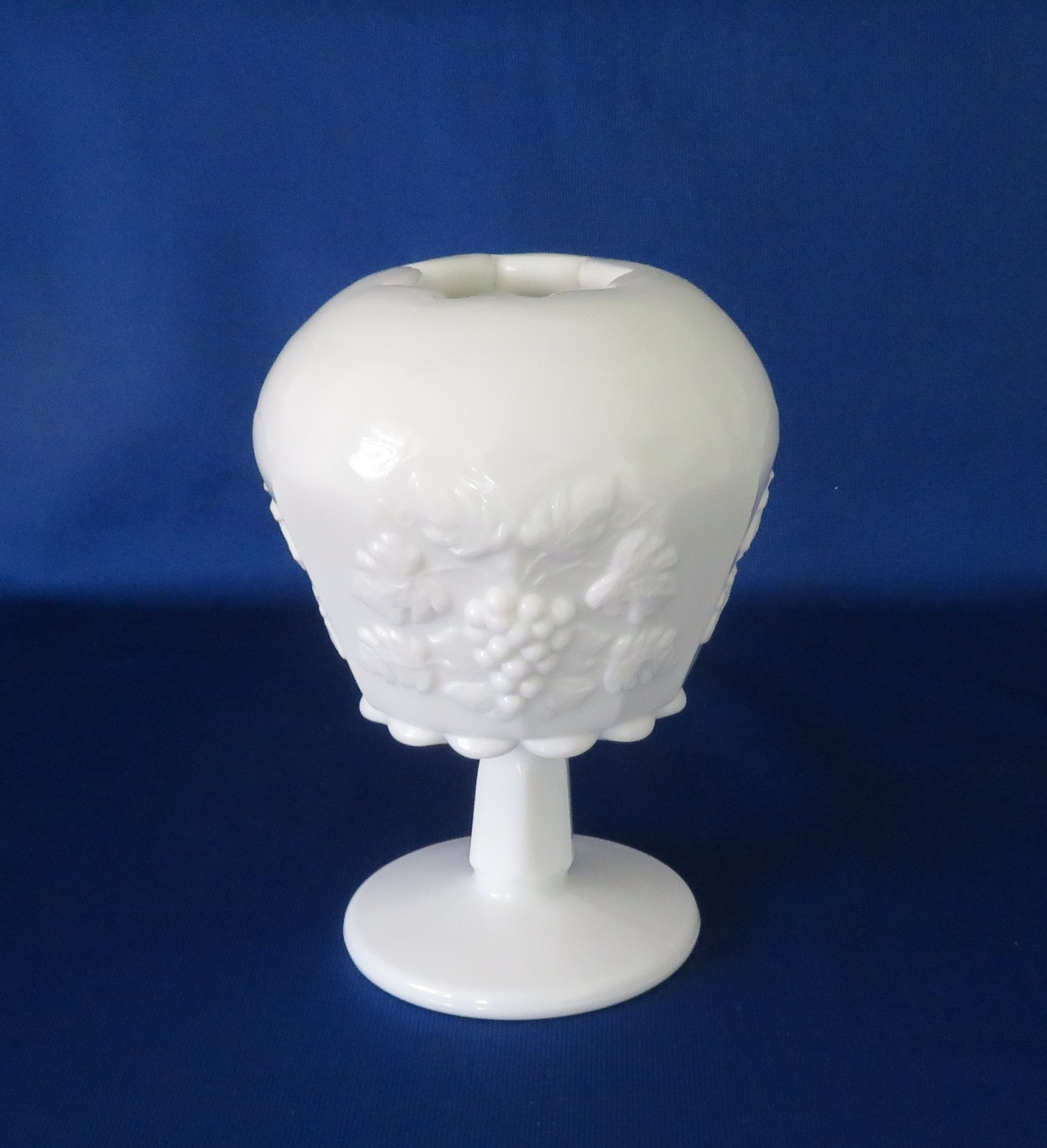 Primary image for Westmoreland Glass, Ivy Ball, Paneled Grape, Milk Glass, PG-98, Line 1881