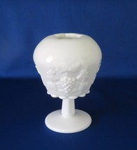Westmoreland Glass, Ivy Ball, Paneled Grape, Milk Glass, PG-98, Line 1881 - $20.00