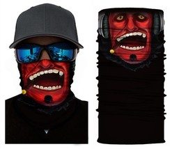 Crazy Cool Red Devil Winter Face Mask Bandanas Headband Multi Headwear S... - $4.94