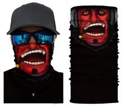 Crazy Cool Red Devil Winter Face Mask Bandanas Headband Multi Headwear Scarf - $4.94