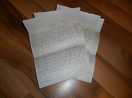 Old Vintage 1944 Navy WW2 Letter Mail from Mom Dad Farragut Naval Traini... - $74.99
