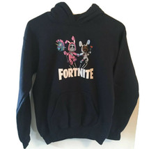 Fortnite Girls Black Hooded Sweatshirt Size Large - $19.80