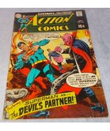 Vintage Action Comic Book July 1969 No 378 DC Superman The Devil's Partner - $5.95