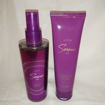 2PC Set Avon Sensus For Her Cologne Spray 150Ml & Perfumed Body Lotion - $20.75
