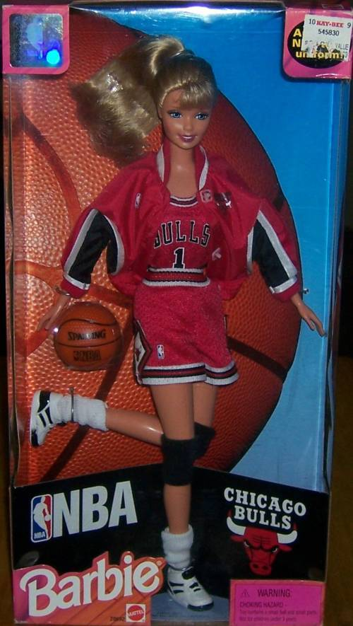 Mattel Barbie **NBA** Chicago Bulls NIB
