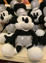 Disney Parks Exclusive Mickey Mouse as Steamboat Willie Knit Plush New - $48.50