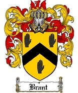 Brant Family Crest / Coat of Arms JPG or PDF Image Download - $6.99
