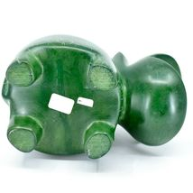 Vaneal Group Hand Carved Soapstone Large Heavy Green Hippopotamus Hippo Bookend image 6
