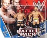 WWE Battle Pack Series 39 Tyson Kidd & Cesaro Wrestling Action Figures - DPV40