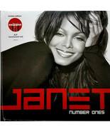 Janet Jackson - Number Ones - Translucent Red Vinyl - $44.50