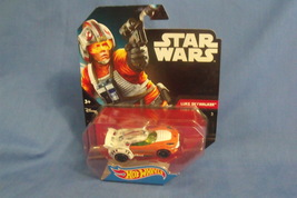 Toys Mattel NIB Hot Wheels Disney Star Wars Luke Skywalker Die Cast Car - $10.95