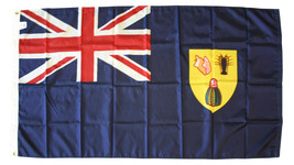 Turks and Caicos - 3'X5' Nylon Flag  - $72.60
