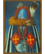 The Night Yei Dancer Navajo Painting Limited Edition Giclée Print by JC ... - $222.07