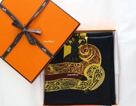 """NWOT Authentic Hermes Scarf""""L'ATLANTIDE"""" Annie Faivre 90 CM  - $395.00"""