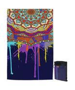Color Melting Mandala Quick Dry Beach Towel - $28.19+