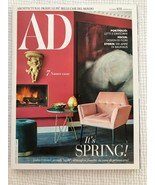 AD ARCHITECTURAL DIGEST MAGAZINE,  March 2019 Italian Issue ITS SPRING - $9.89