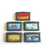 5X Nintendo Gameboy Advance GBA POTC Spyro Incredibles Harry Potter Cent... - $23.74