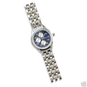 Men's Fashion Watch with Blue Face