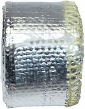 "Heat Sheath Aluminized Sleeving Heat Shield Protection Barrier 1/2"" x 36"" (3ft) image 2"