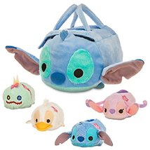 Disney - Stitch ''Tsum Tsum'' Plush Set - Small Bag - 8'' - Plus Stitch,... - $72.25