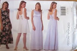 Vintage Butterick SEWING Pattern 4844 Evening Gown Prom Formal UNCUT OOP... - $5.93+