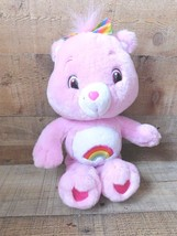 "Cheer Bear CARE BEARS 2007 Stuffed 14"" Plush Toy - $9.89"