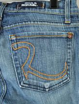 Rock & Republic Roth Dark Trick Blue Jeans 27 USA 5455 Womens - $34.55